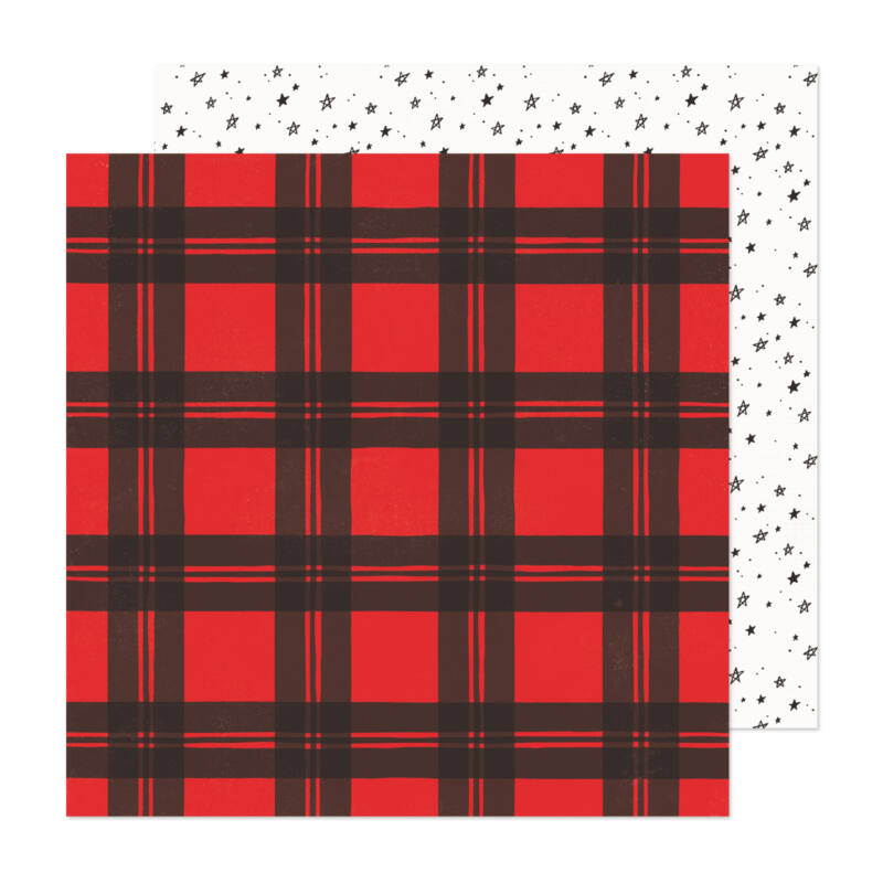 Crate Paper - Hey, Santa 12x12 papír - Holiday Cheer
