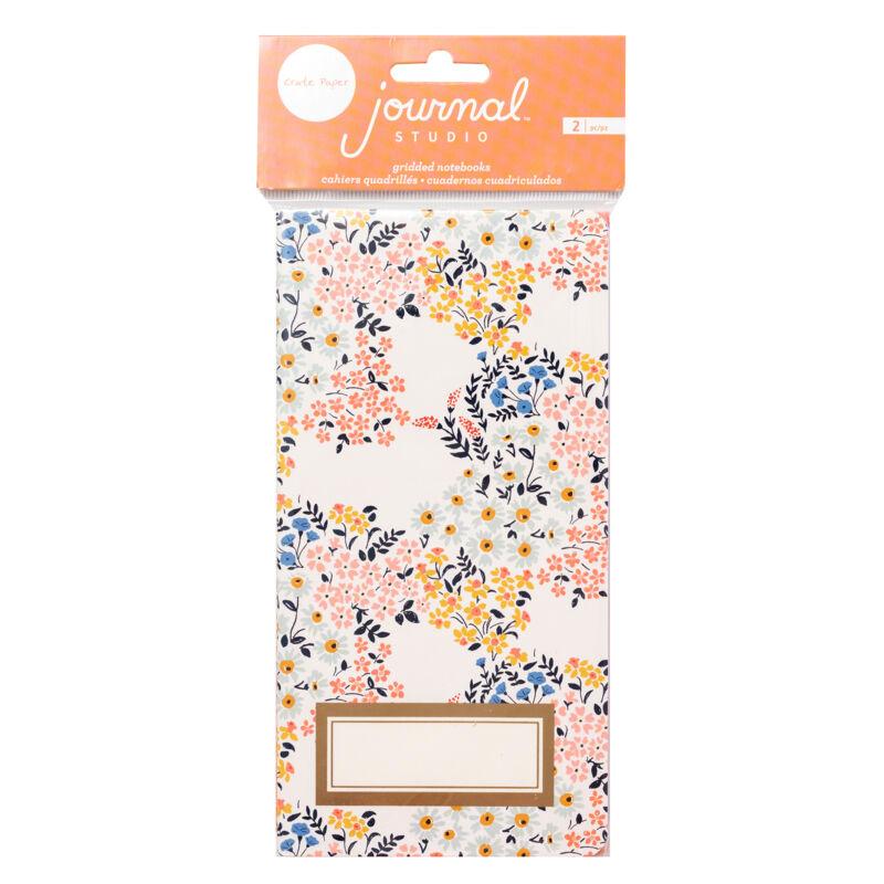 Crate Paper - Journal Studio Journal Insert -  Floral (2 Piece)