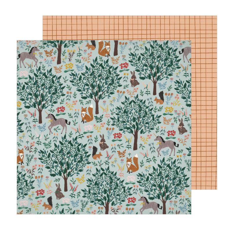 Crate papír - Magical Forest 12x12 papír -  Imaginary