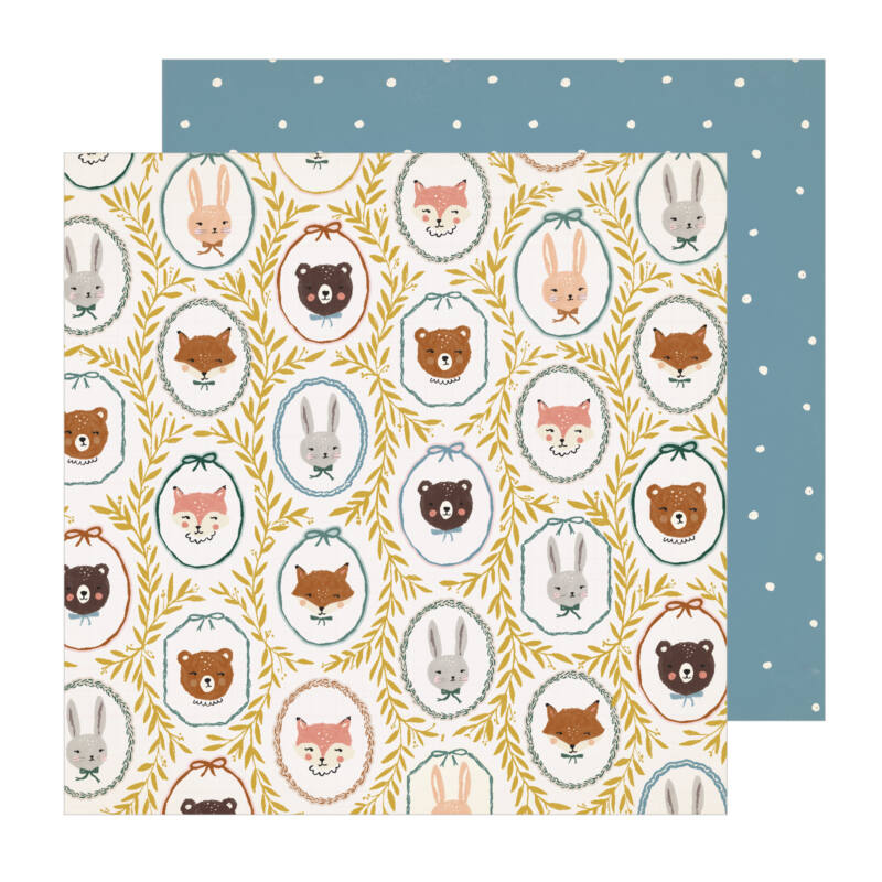 Crate Paper - Magical Forest 12x12 Paper -  Critters