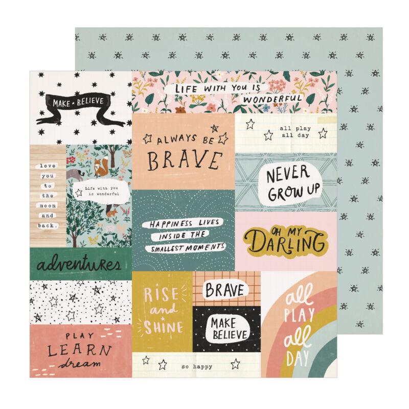 Crate papír - Magical Forest 12x12 papír - Always