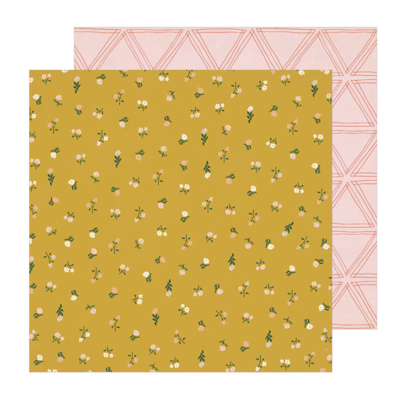 Crate Paper - Magical Forest 12x12 Paper - Wildflower