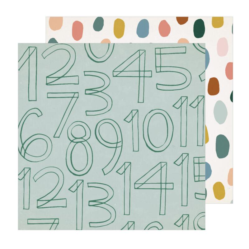 Crate papír - Magical Forest 12x12 papír - Little