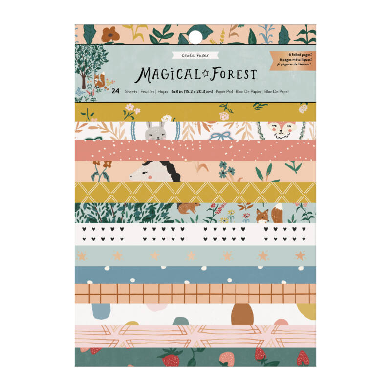 Crate Paper - Magical Forest 6x8 Paper Pad (24 Sheets)