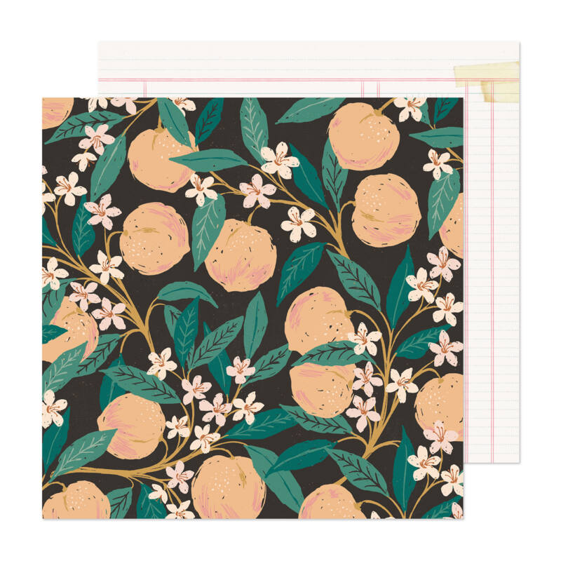 Crate Paper - Maggie Holmes - Marigold 12x12 Patterned Paper -  Natural Beauty