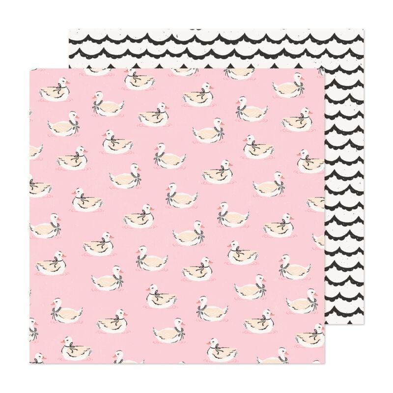 Crate Paper - Maggie Holmes - Marigold 12x12 scrapbook papír -  Darling