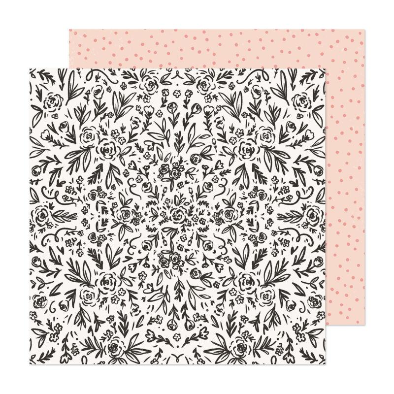 Crate Paper - Maggie Holmes - Marigold 12x12 scrapbook papír -  Freshly Picked