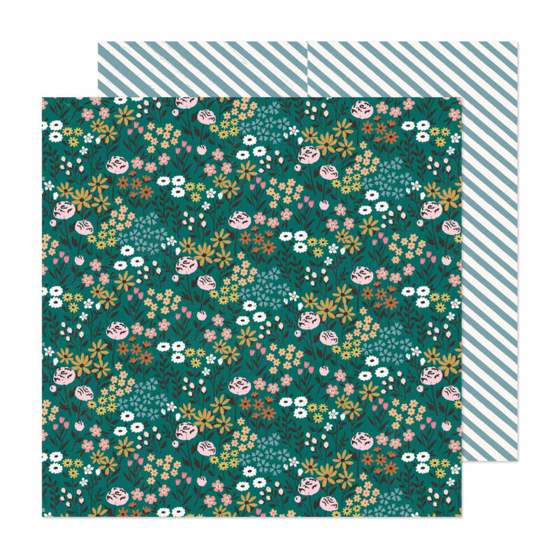 Crate Paper - Maggie Holmes - Marigold 12x12 Patterned Paper -  Best Day