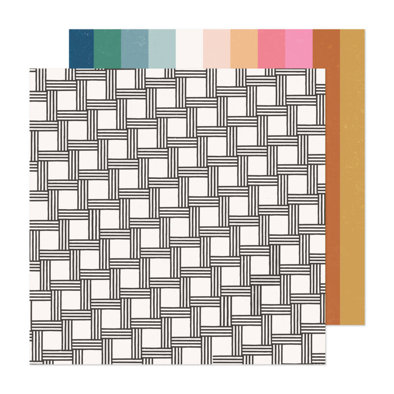Crate Paper - Maggie Holmes - Marigold 12x12 Patterned Paper -  Dream Big