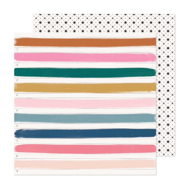 Crate Paper - Maggie Holmes - Marigold 12x12 scrapbook papír -  Happy Place