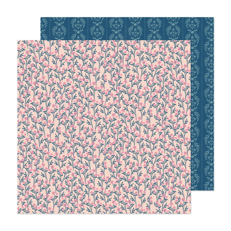 Crate Paper - Maggie Holmes - Marigold 12x12 Patterned Paper -  Treasured