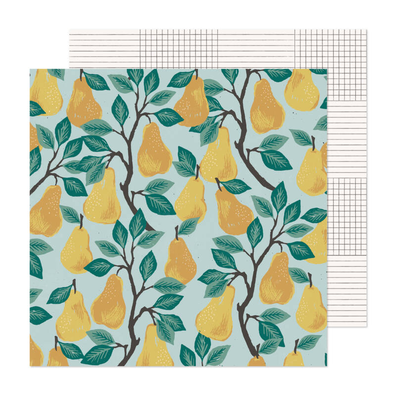 Crate Paper - Maggie Holmes - Marigold 12x12 Patterned Paper -  Harvest
