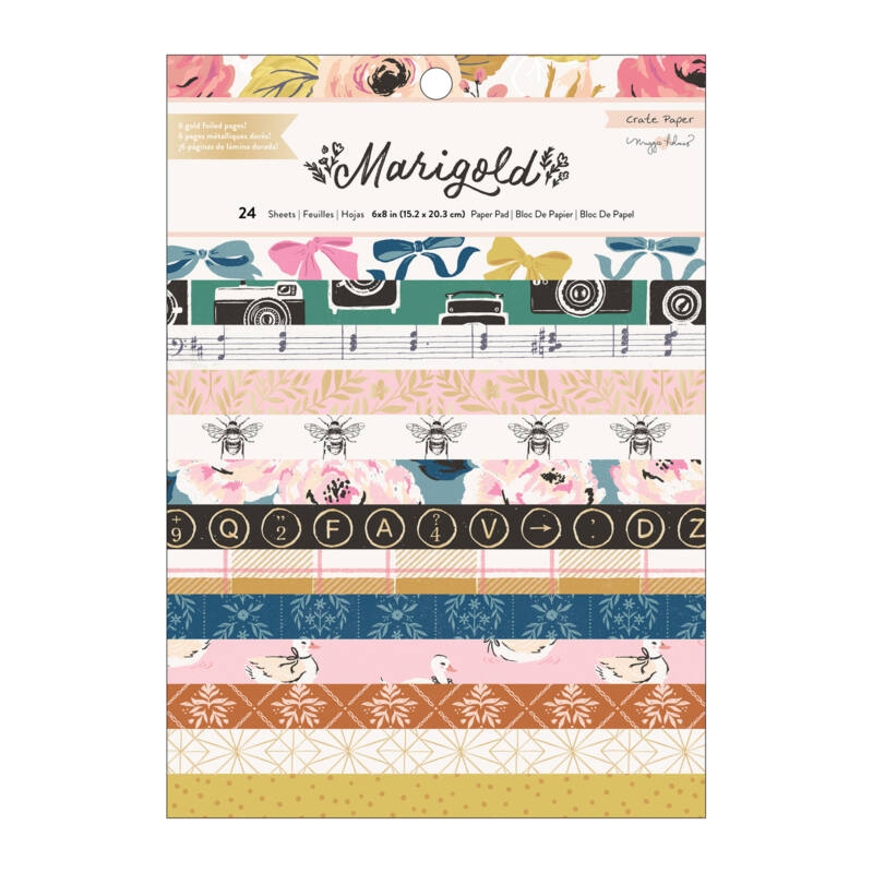 Crate Paper - Maggie Holmes - Marigold 6x8 Paper Pad (24 Sheets)