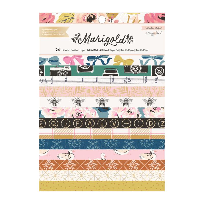 Crate Paper - Maggie Holmes - Marigold 6x8 papírtömb (24 lap)