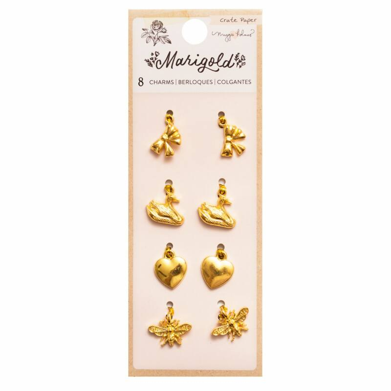 Crate Paper - Maggie Holmes - Marigold Charms (8 Piece)