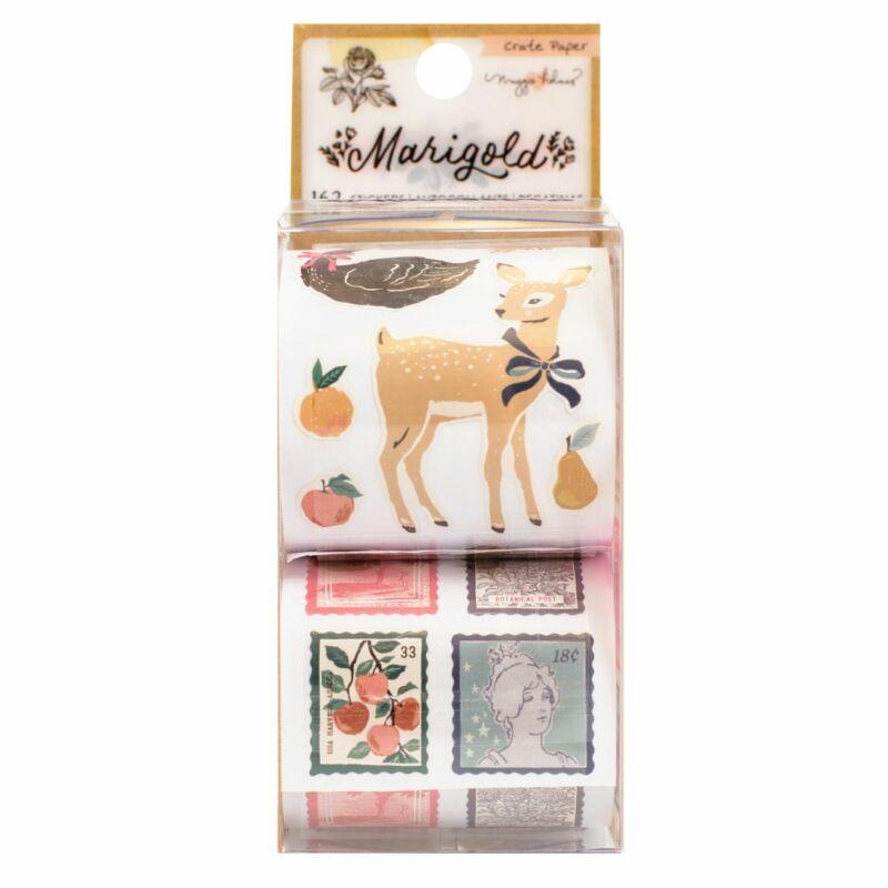 Crate Paper - Maggie Holmes - Marigold Sticker Rolls (162 Piece)
