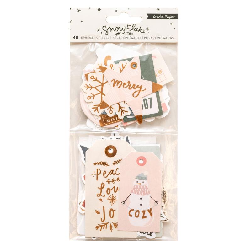 Crate Paper - Snowflake kivágat (40 db)