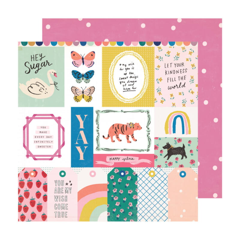 Crate Paper - Maggie Holmes - Sweet Story 12x12 Paper - Sweet Treat