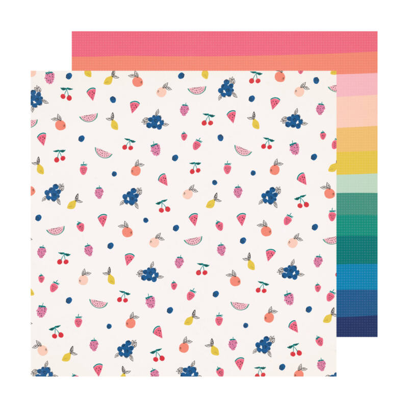 Crate Paper - Maggie Holmes - Sweet Story 12x12 Paper - Jubilee