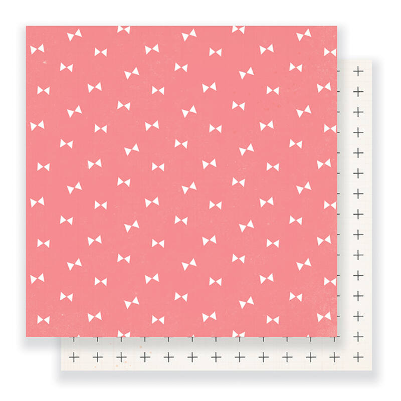 Crate Paper - Maggie Holmes - Gather 12 x 12 Double Sided Paper - Blush