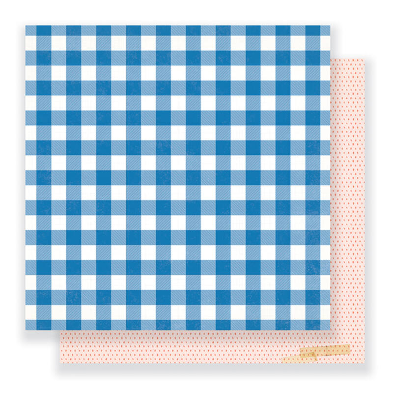 Crate Paper - Maggie Holmes - Gather 12 x 12 Double Sided Paper - You + Me