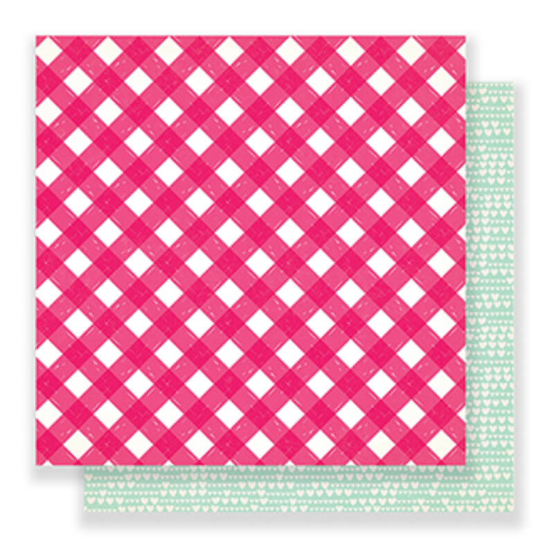 Crate Paper - Main Squeeze 12x12 scrapbook papír - Just Love