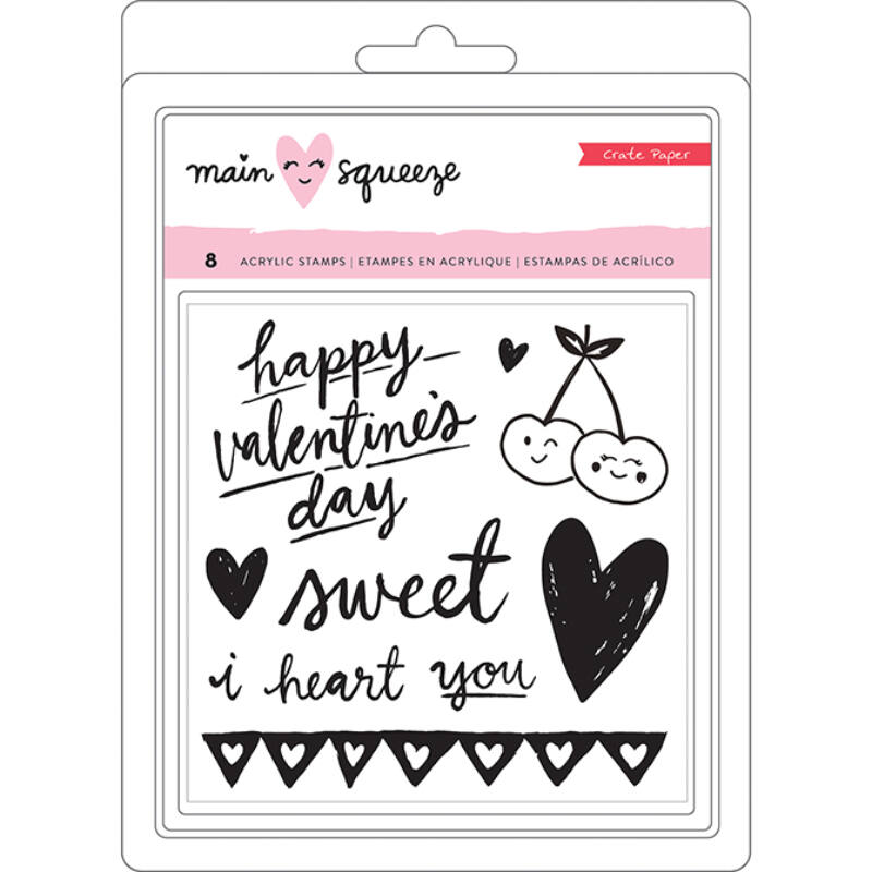Crate Paper - Main Squeeze Clear Stamps