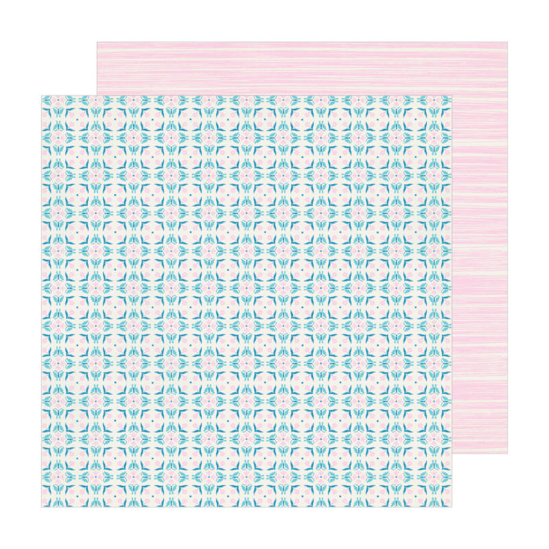 Crate Paper - Maggie Holmes - Sunny Days 12x12 Patterned Paper -  Florentine