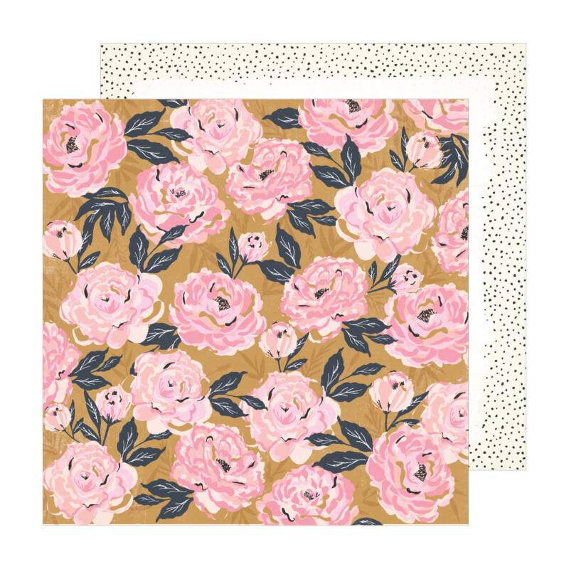 Crate Paper - Maggie Holmes - Sunny Days 12x12 Patterned Paper -  Splendor