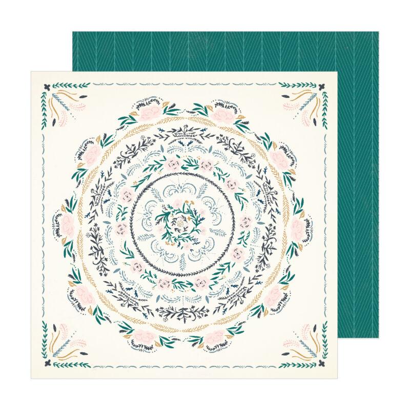 Crate Paper - Maggie Holmes - Sunny Days 12x12 scrapbook papír -  Wander