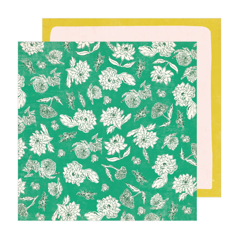 Crate Paper - Maggie Holmes - Sunny Days 12x12 scrapbook papír -  Whimsy