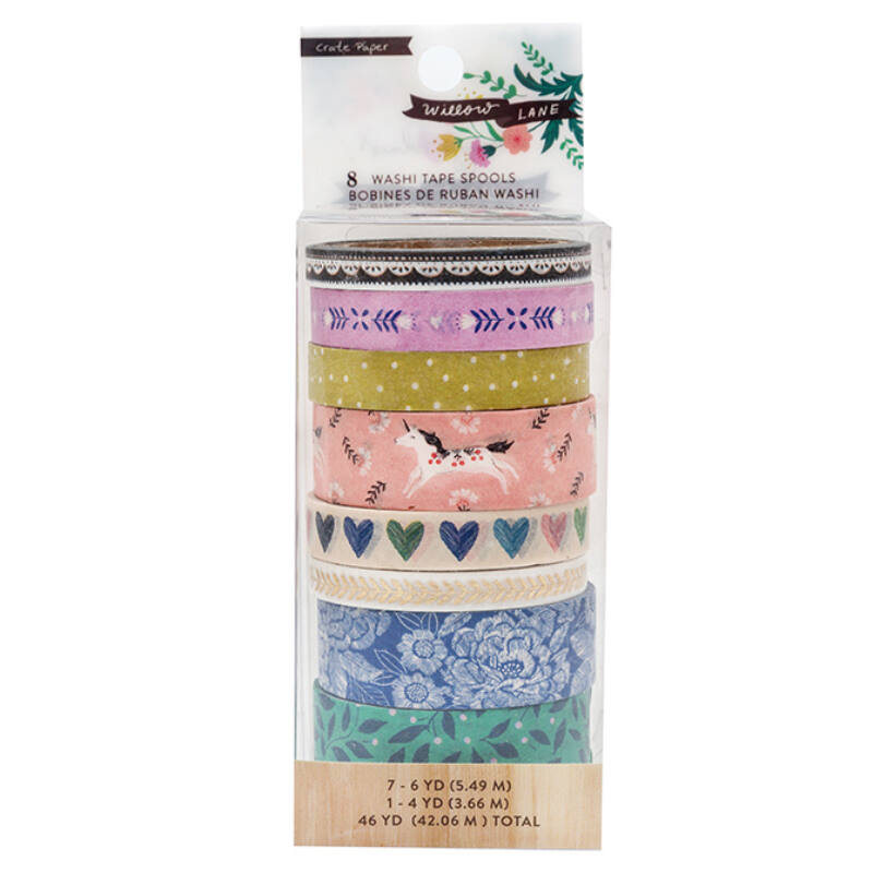 Crate Paper - Maggie Holmes - Willow Lane Washi Tape Set