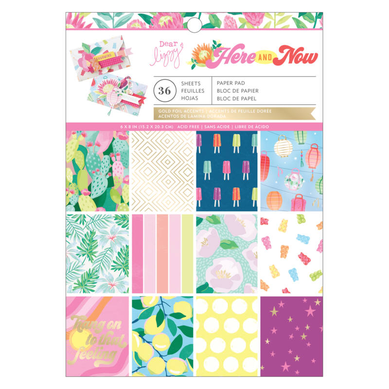 Dear Lizzy - Here and Now 6x8 Paper Pad (36 Sheets)