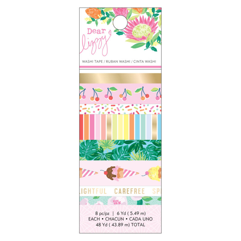 Dear Lizzy - Here and Now Washi Tape (8 Piece)