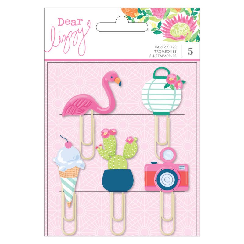 Dear Lizzy - Here and Now Rubber Paper Clips (5 Piece)