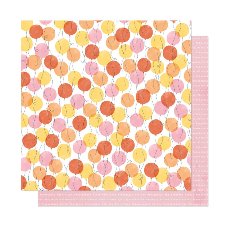Dear Lizzy - It's All Good 12x12 Patterned Paper - Good Times