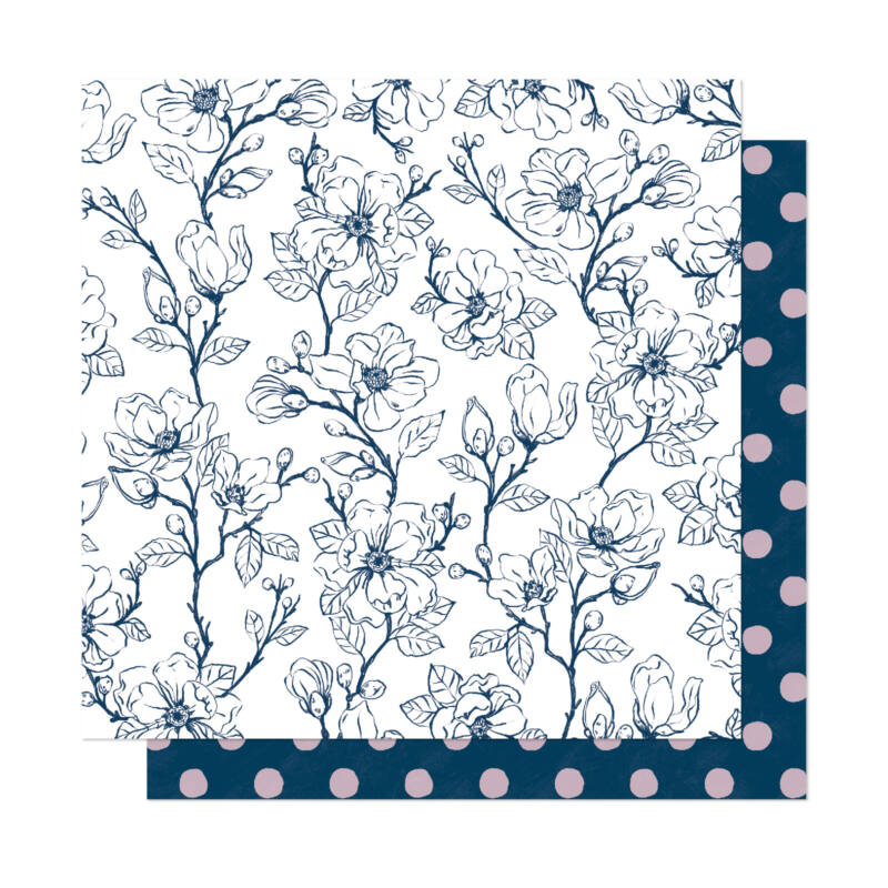 Dear Lizzy - It's All Good 12x12 Patterned Paper - Live Simply