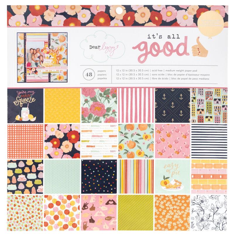 Dear Lizzy - It's All Good 12x12 Paper Pad