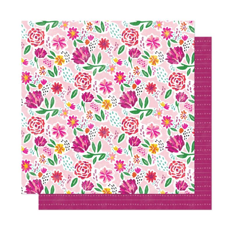 Dear Lizzy - New Day 12x12 scrapbook papír - Be You
