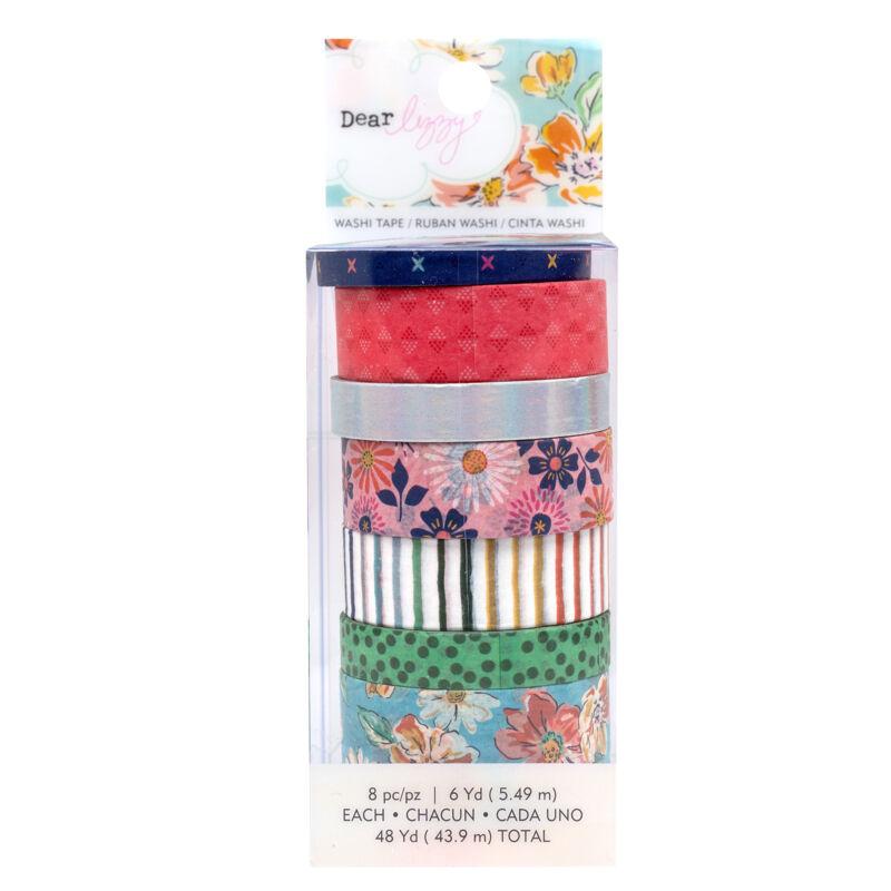 Dear Lizzy - She's Magic Washi Tape Set (8 Piece)