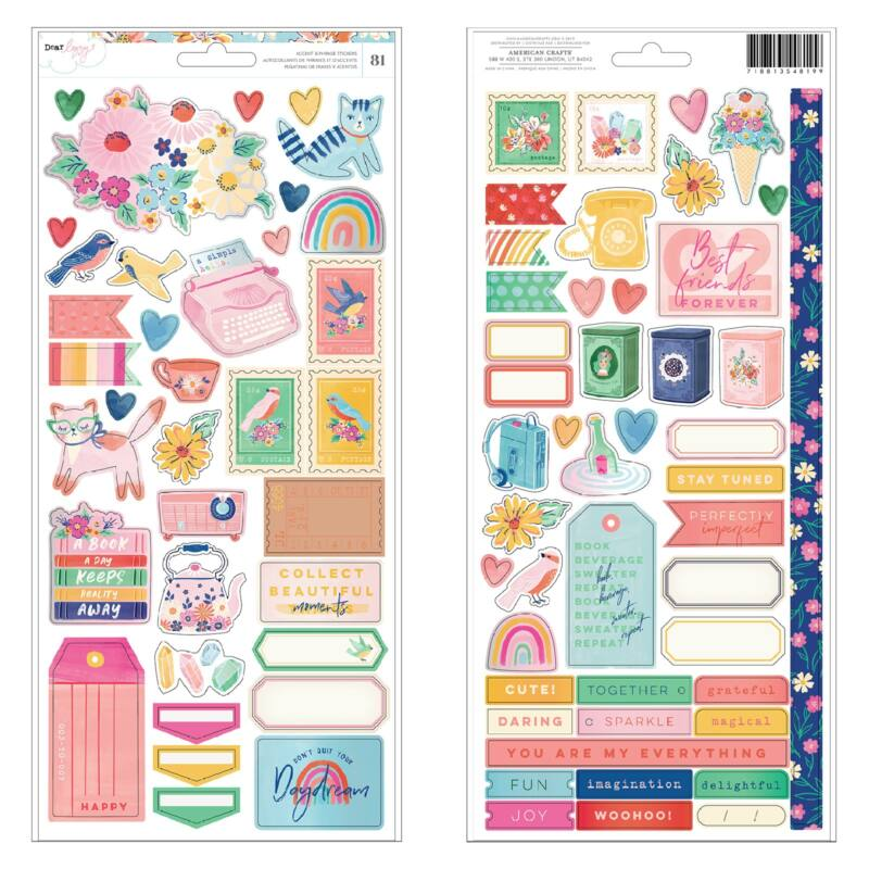 Dear Lizzy - She's Magic 6x12 Sticker (81 Piece)