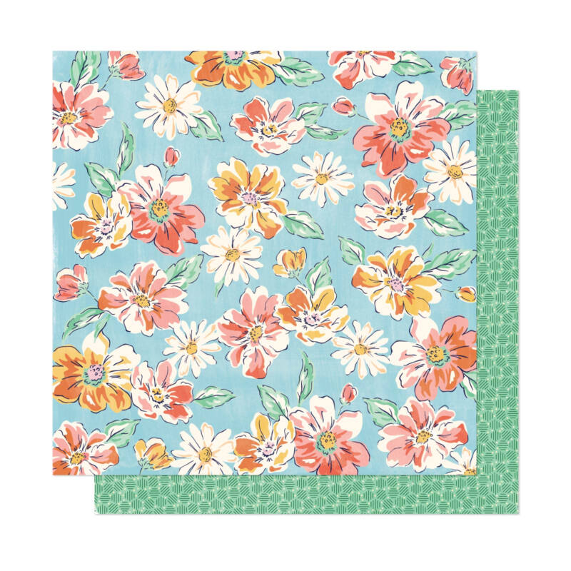 Dear Lizzy - She's Magic 12x12 Patterned Paper - Magic