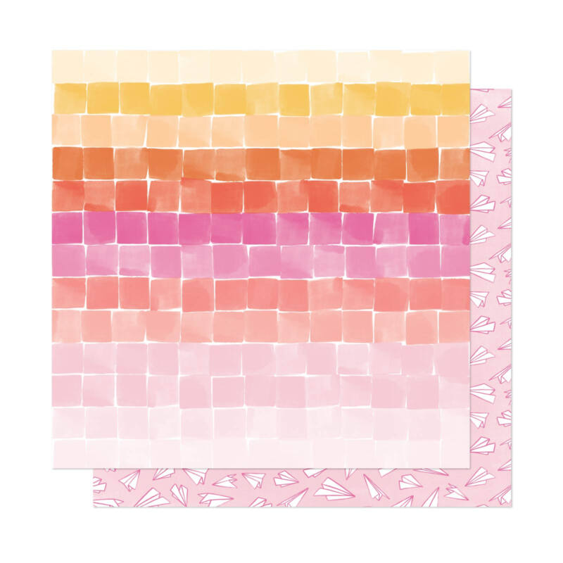 Dear Lizzy - She's Magic 12x12 Patterned Paper - Dreaming