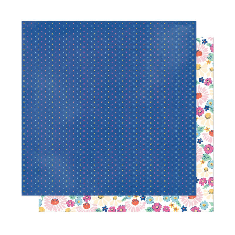 Dear Lizzy - She's Magic 12x12 Patterned Paper - Real Life