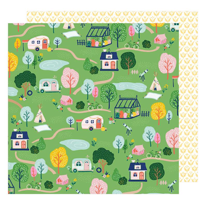 Dear Lizzy - Star Gazer 12x12 Paper - Happy Trails