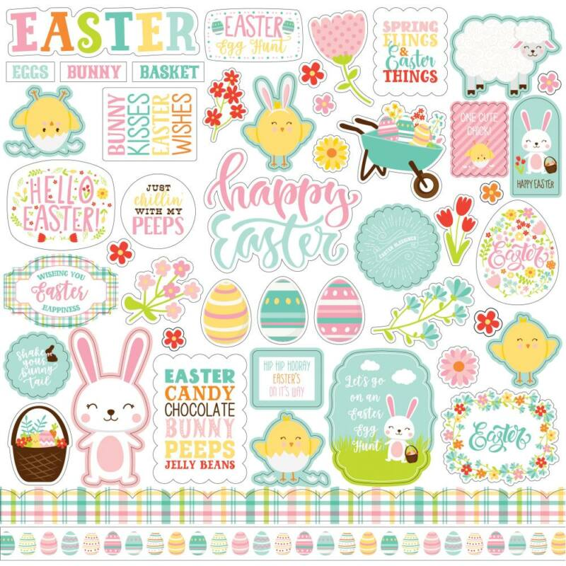 Echo Park - Easter Wishes 12x12 matrica