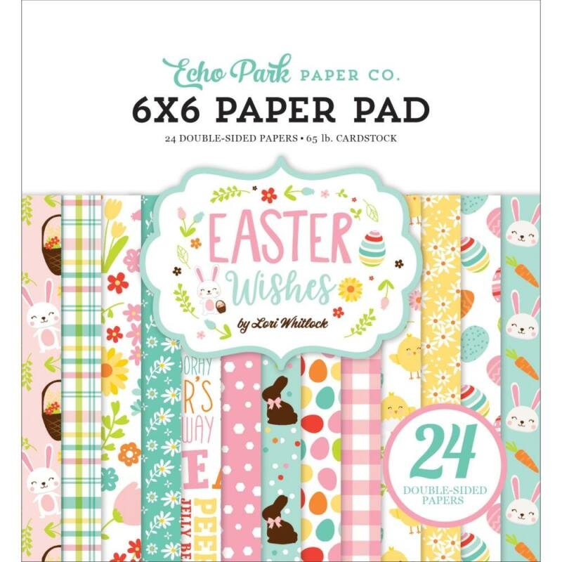 Echo Park - Easter Wishes 6x6 Paper Pad (24 Sheets)