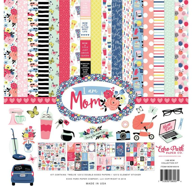 Echo Park - I Am Mom 12x12 Collection Kit