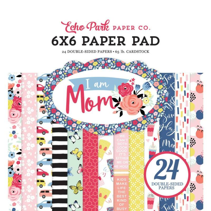 Echo Park - I Am Mom 6x6 Paper Pad (24 Sheets)