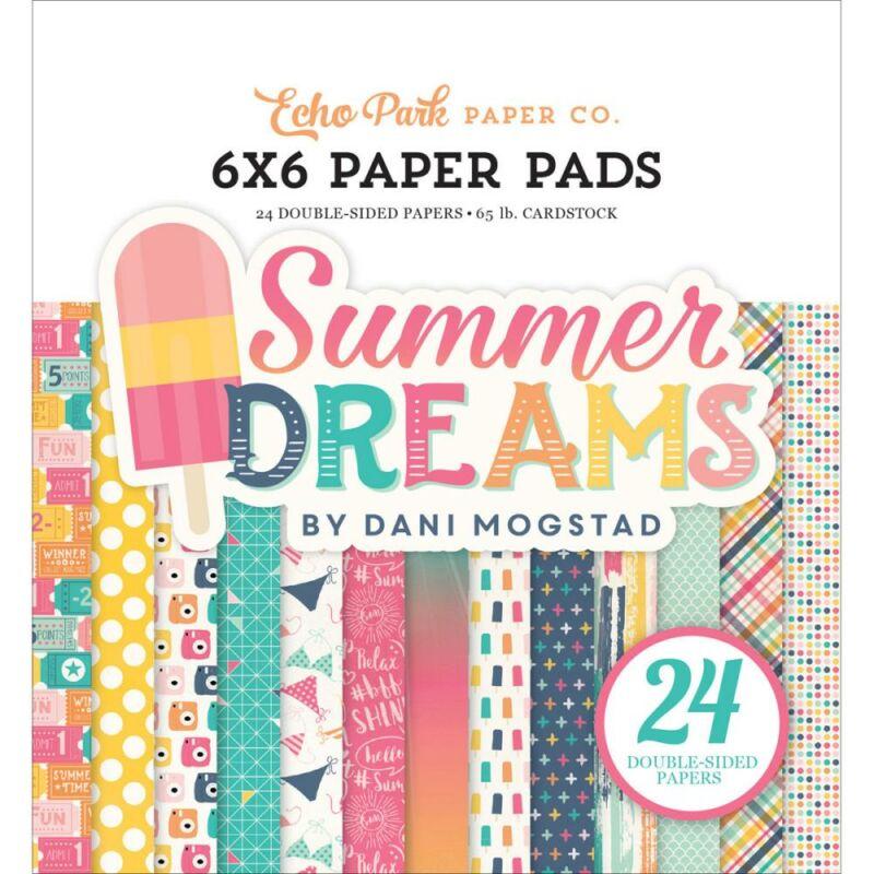 Echo Park - Summer Dreams 6x6 Paper Pad